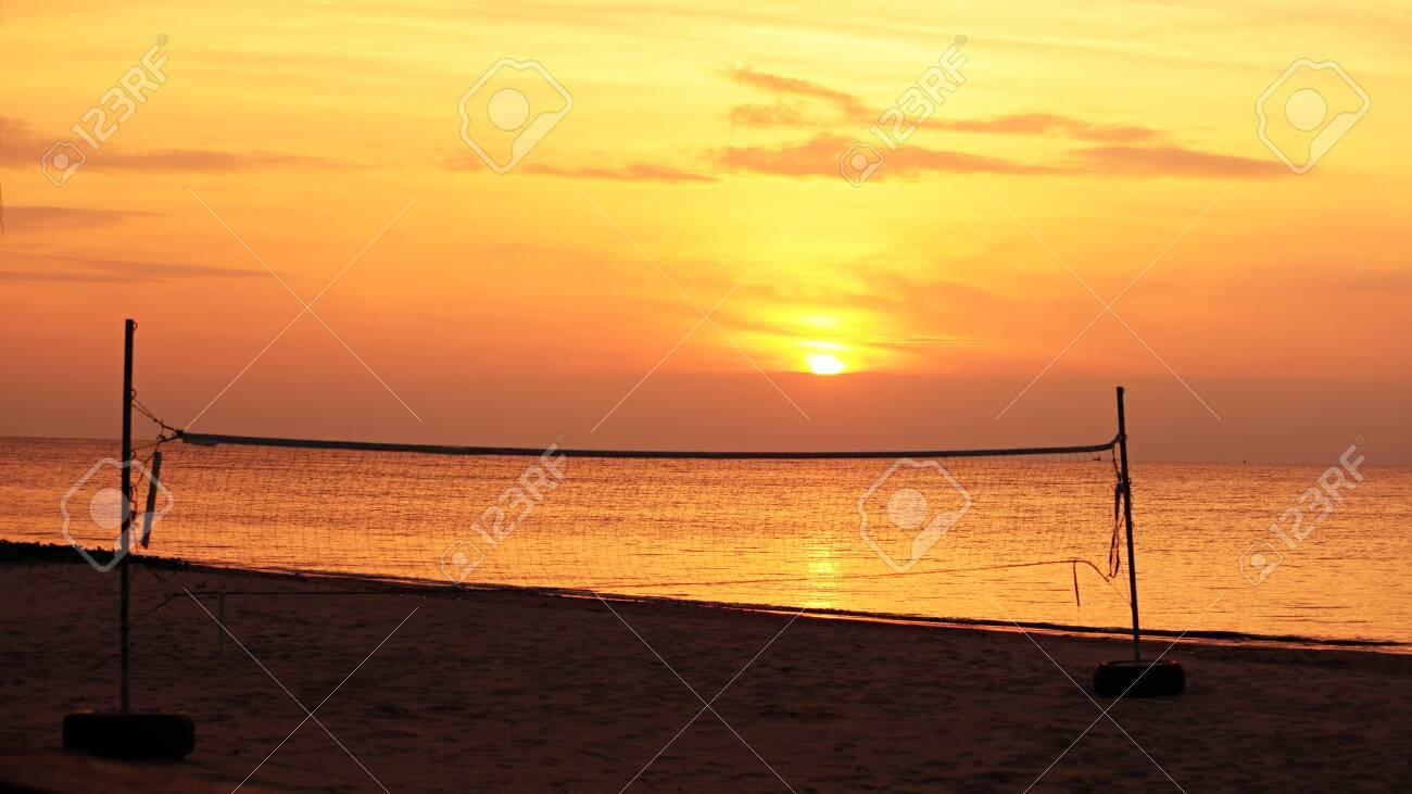 Beach Volleyball Stock Photo - 9157133