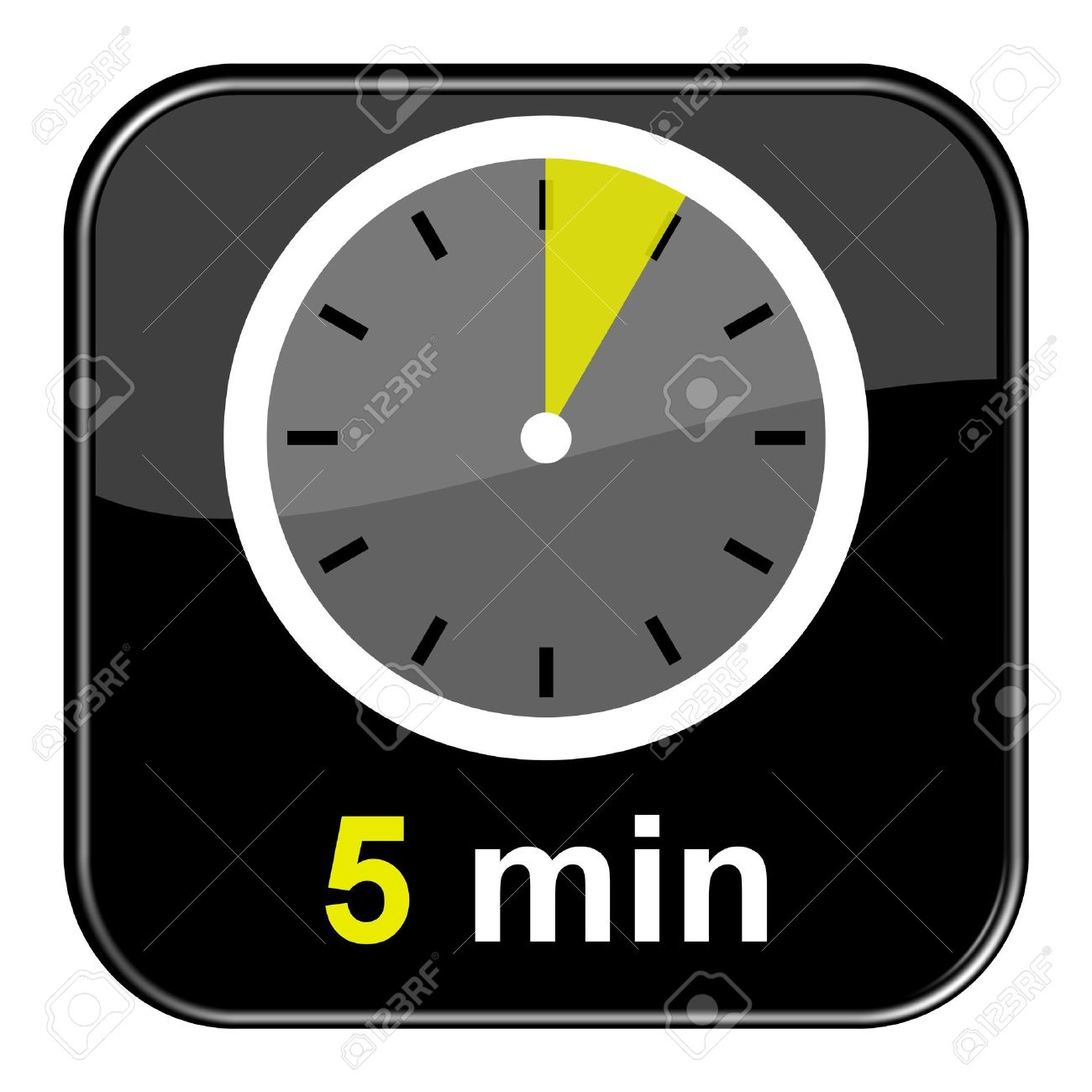 5 Minutes Clock Images & Stock Pictures. Royalty Free 5 Minutes ...