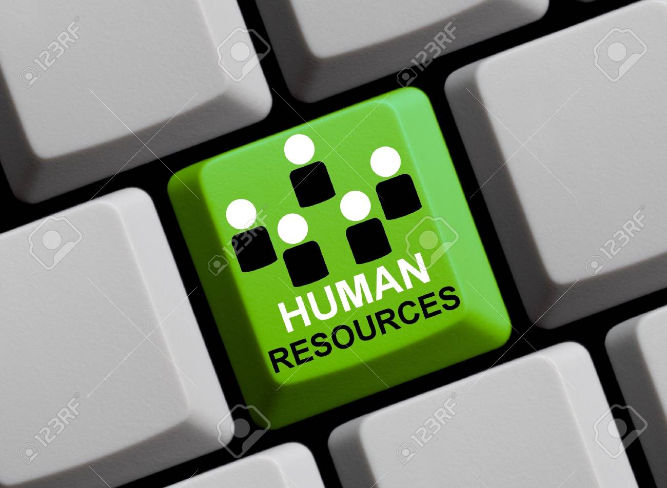 Human resources online Stock Photo - 16277233