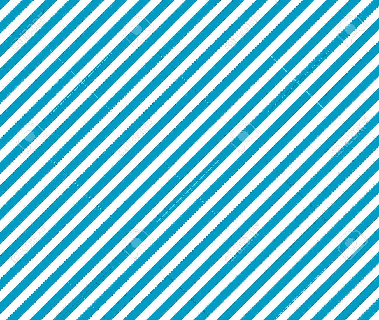 Light Blue Background And White Diagonal Stripes Stock Photo