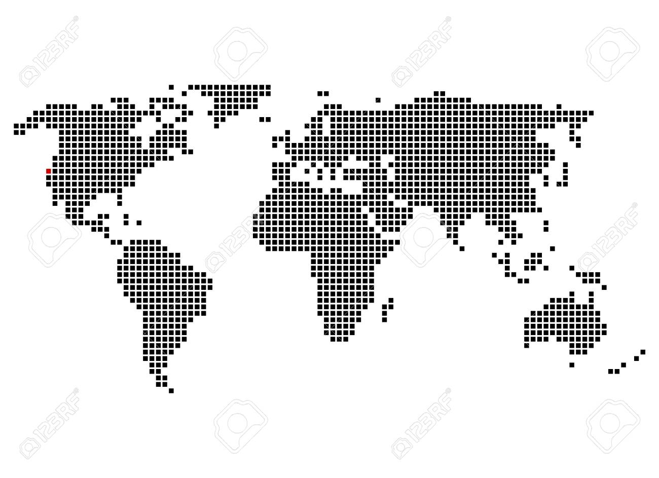 World map with position of San Francisco on mykonos on world map, hue on world map, fremont on world map, kano on world map, gdansk on world map, babylon city on world map, altamira on world map, kauai hawaii on world map, chicago on world map, montreal on world map, longyearbyen on world map, mexico city on world map, buenos on world map, new york on world map, charles town on world map, tokyo on world map, california on world map, disneyland on world map, canberra on world map, sanaa on world map,