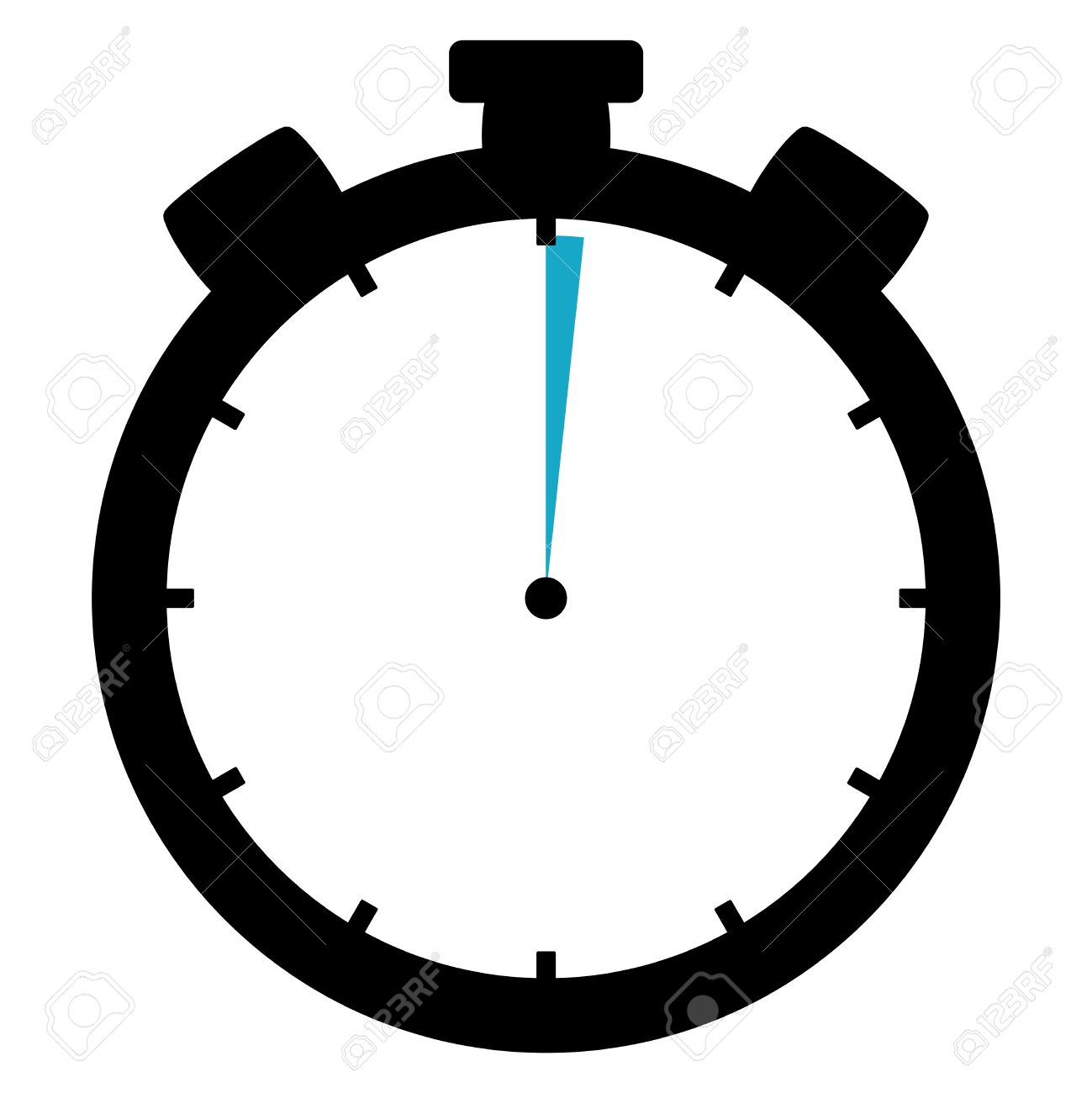 stopwatch 1 second 1 minute stock photo picture and royalty