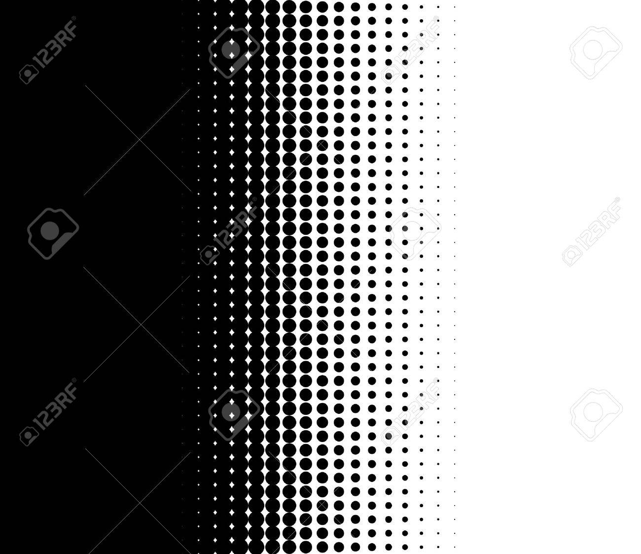 Background image transition - Background Transition Of Dots With Colors Black And White Stock Photo 42924024
