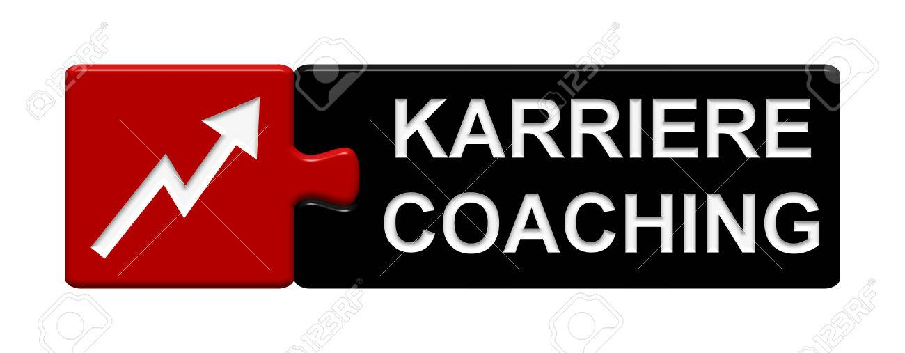 Puzzle Button Of Two Puzzle Pieces With Symbol Showing Coach Stock