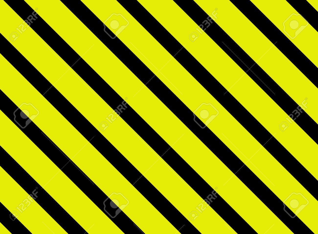 Fond D Ecran Avec Des Rayures Diagonales Jaune De Noir Banque D Images Et Photos Libres De Droits Image 43669772