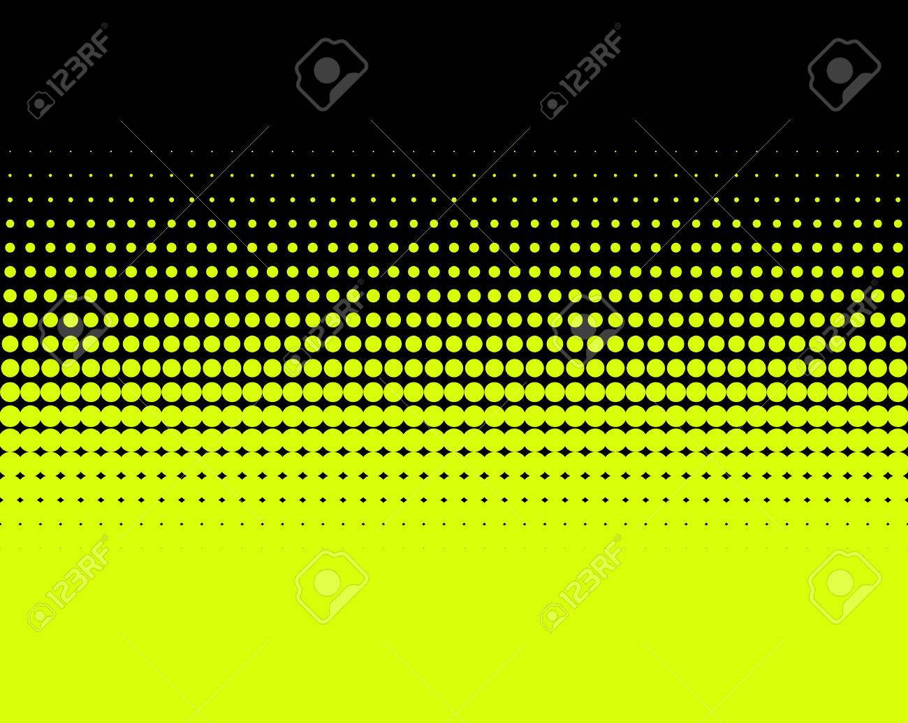 Background image transition - Stock Photo Transition Of Yellow Dots On Black Background