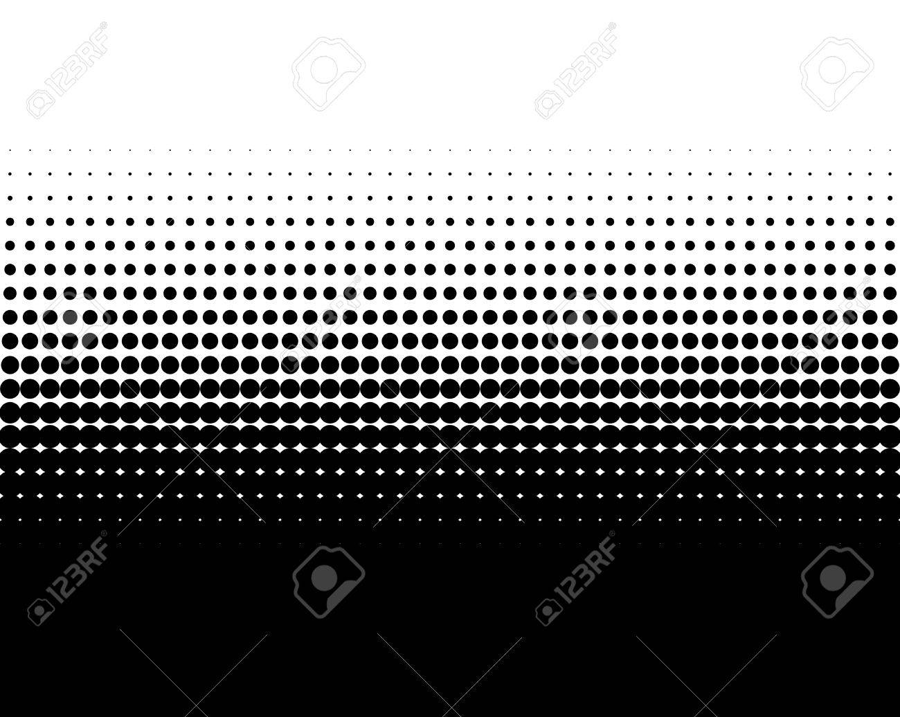 Background image transition - Transition Of Black Dots On White Background Stock Photo 47221453