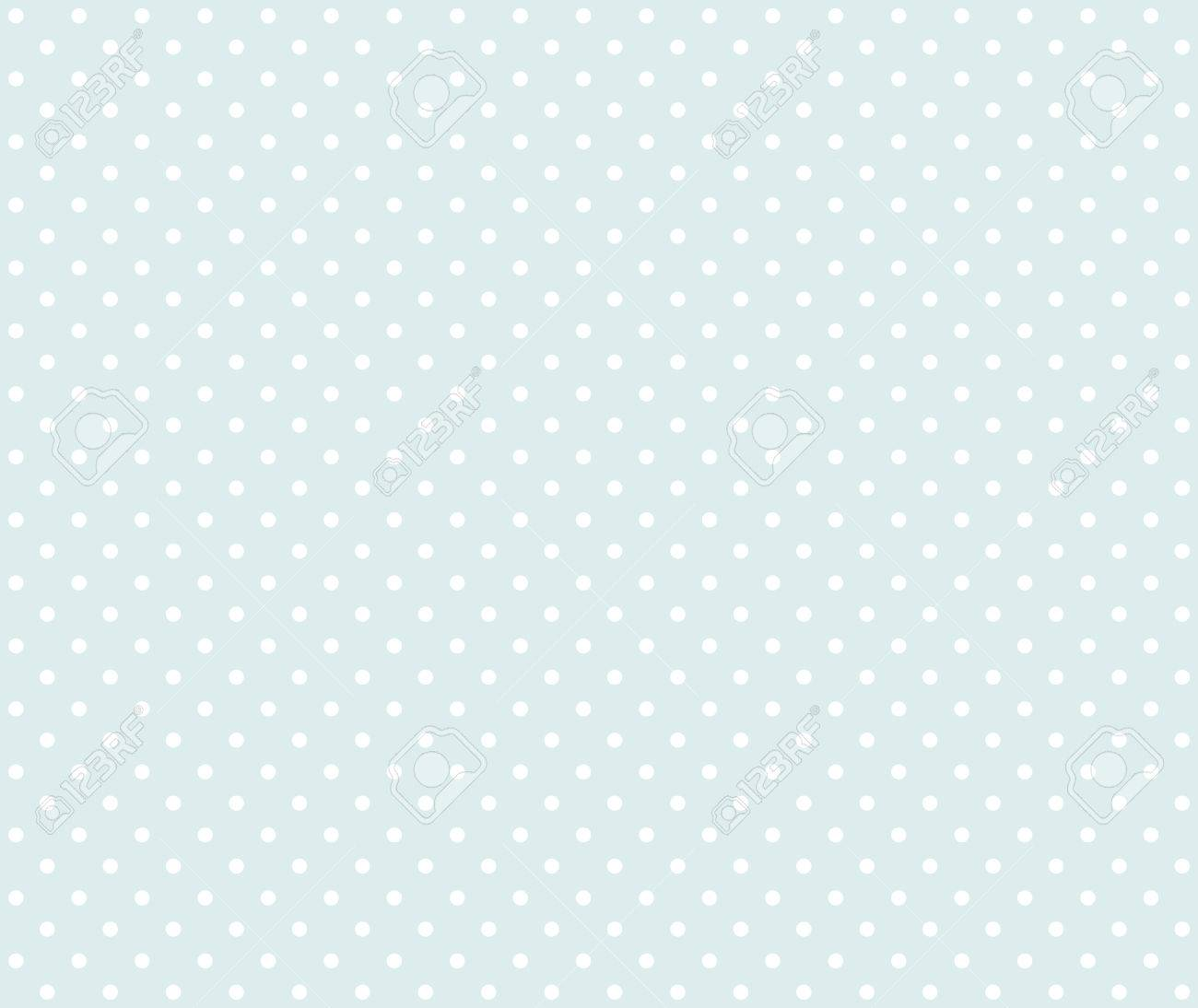 Polka Dot Background White And Light Blue Stock Photo Picture And