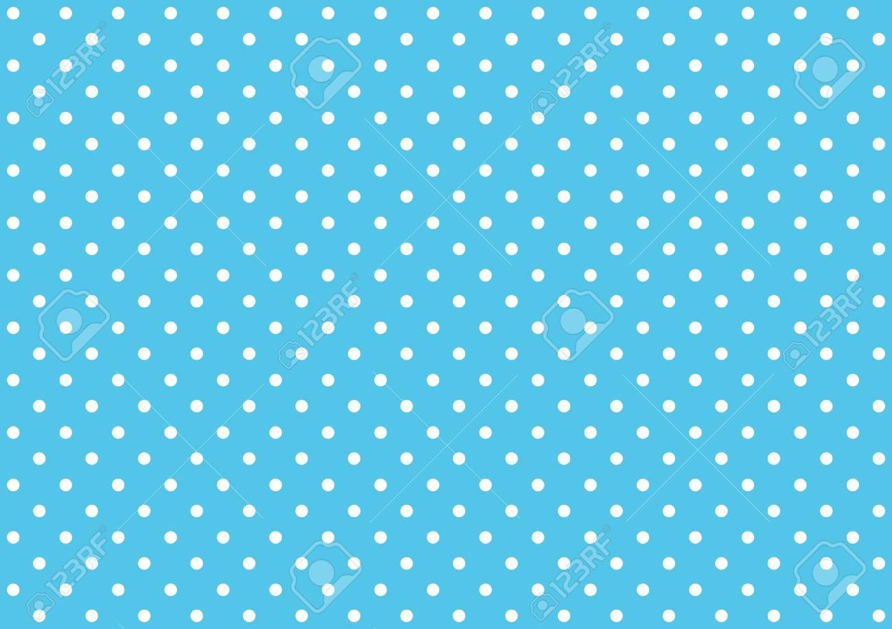 Immagini Stock Azzurro Di Sfondo Blu Punteggiato Con Punti Bianchi
