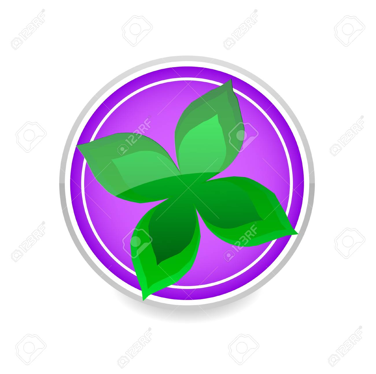 nature leaf green color symbol isolated Stock Vector - 10906807