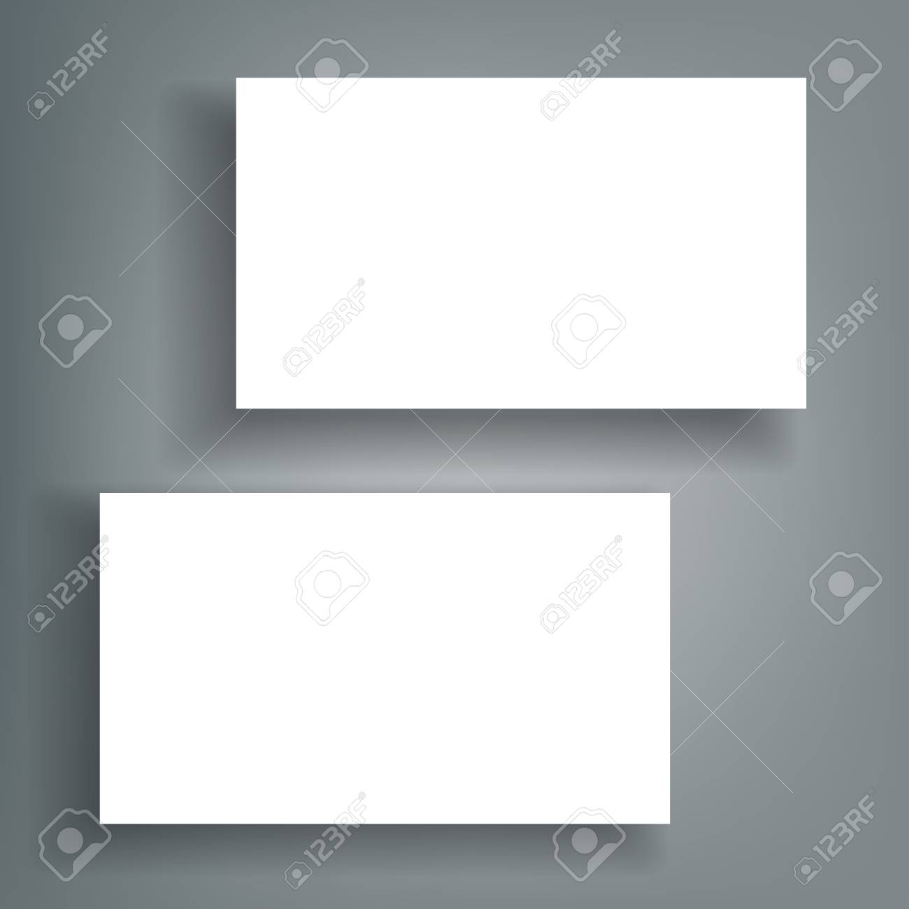Business card blank with shadow mockup cover template royalty free business card blank with shadow mockup cover template stock vector 95018879 wajeb Image collections