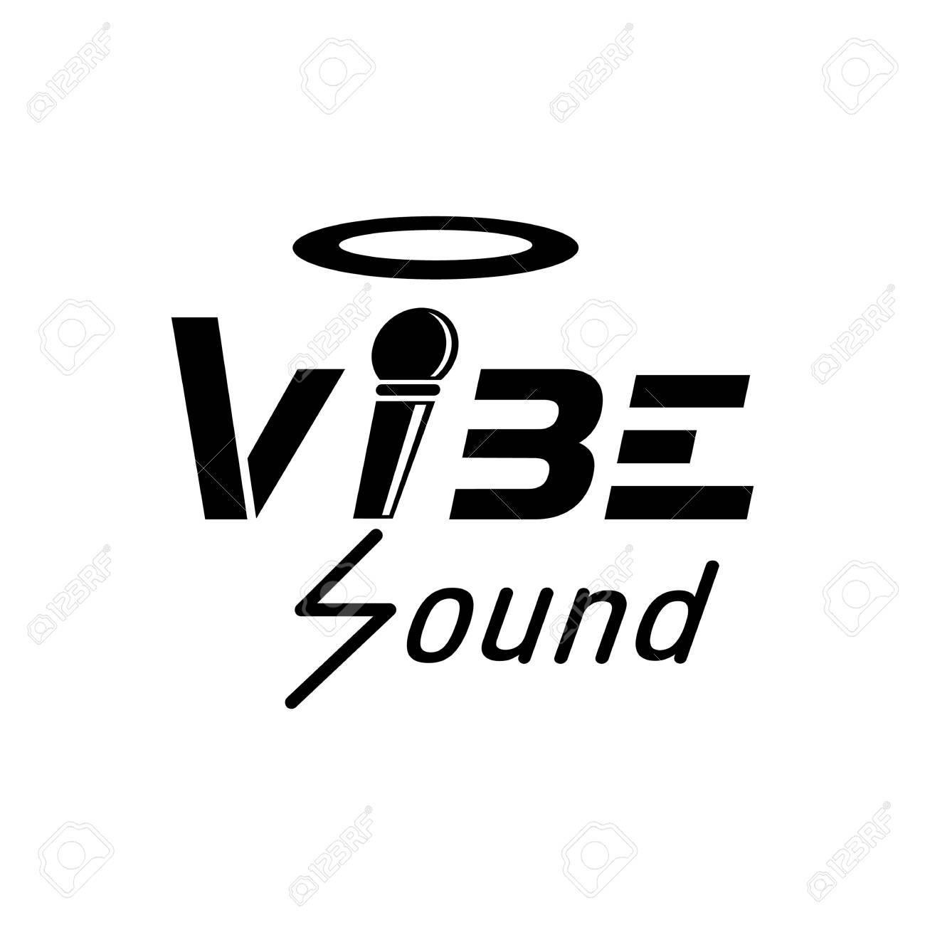 Vibe Sound Design Mit Mikrofon Draht Ist S Brief Lizenzfrei Nutzbare ...