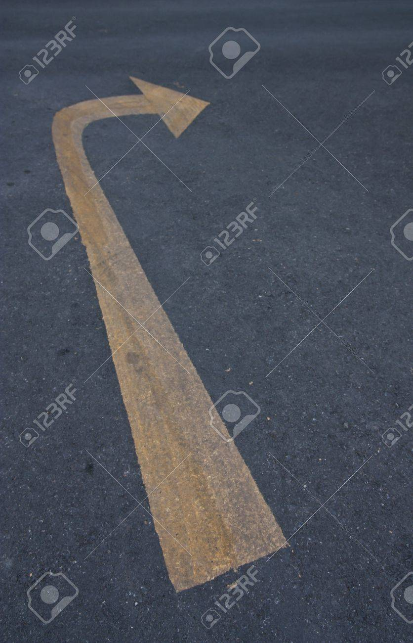 right turn sign Stock Photo - 7510611