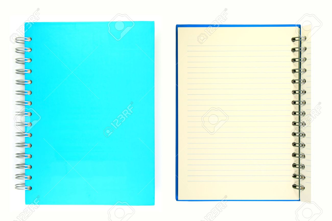 Notebook Cover And Paper Photo Picture And Royalty Free – Notebook Paper Background for Word