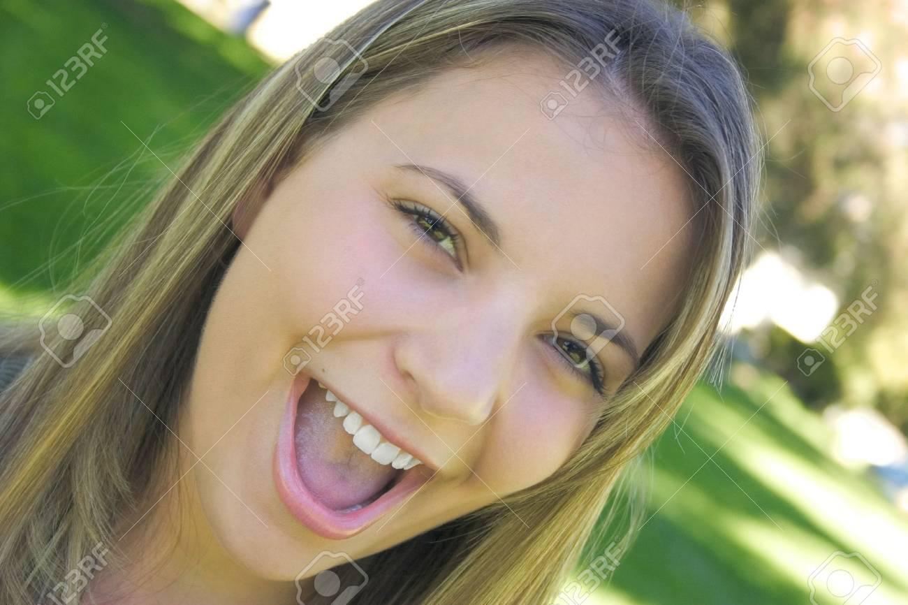 Happy Woman Stock Photo - 221108