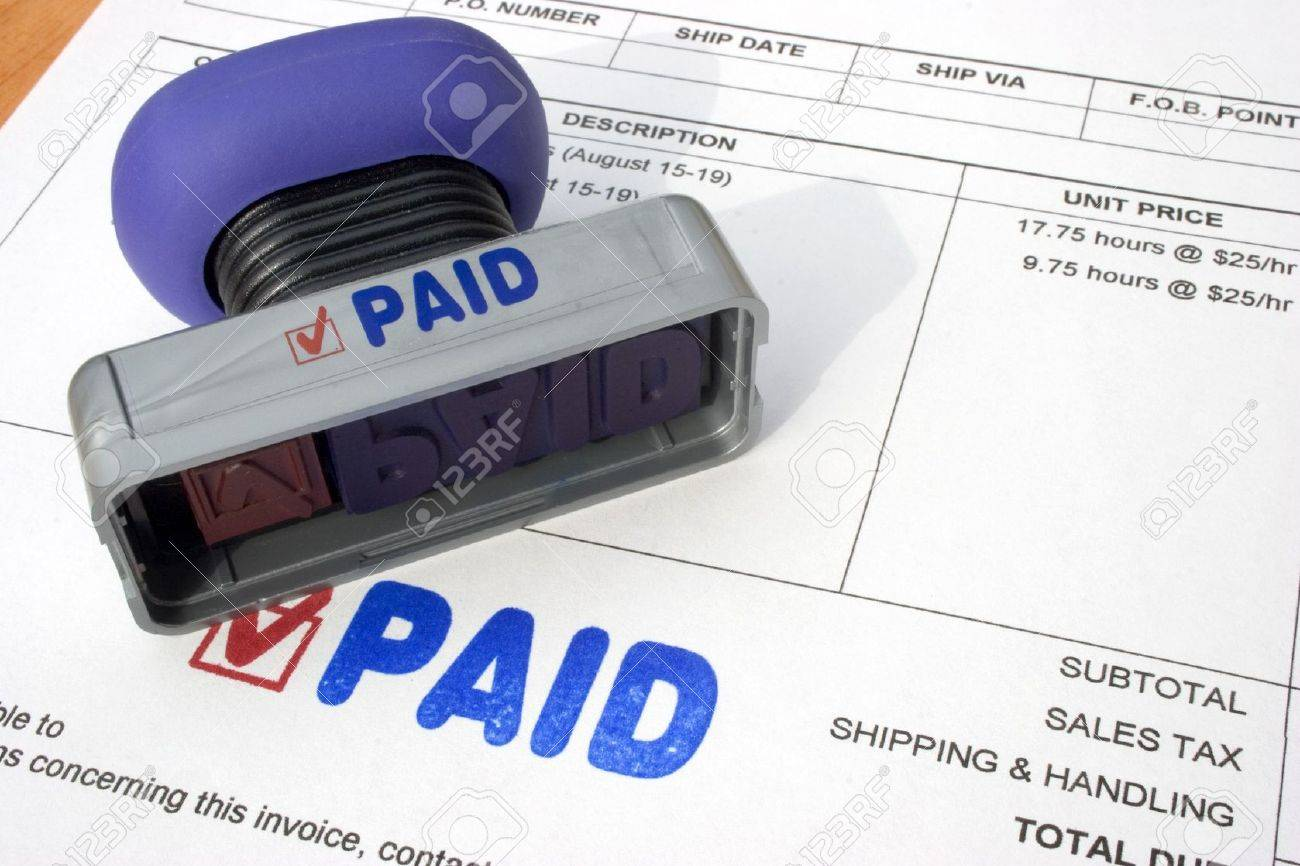 Paid Bills Stock Photo - 289028
