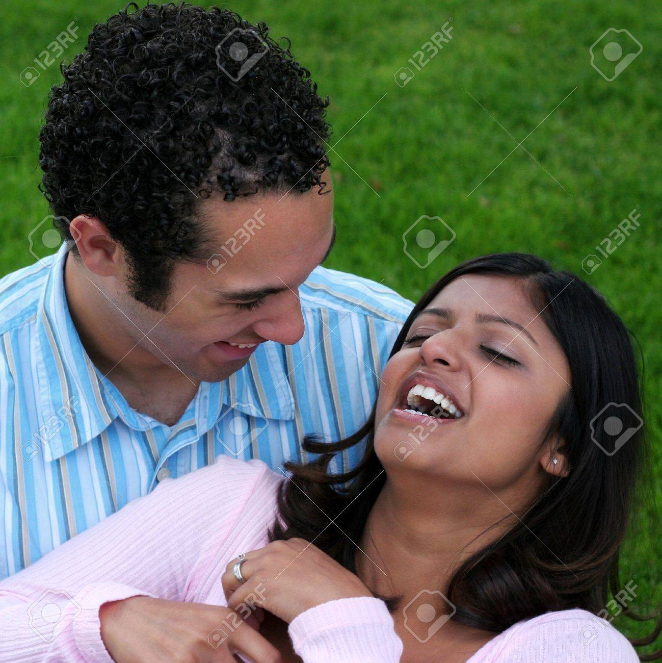 Laughing Couple Stock Photo - 352656