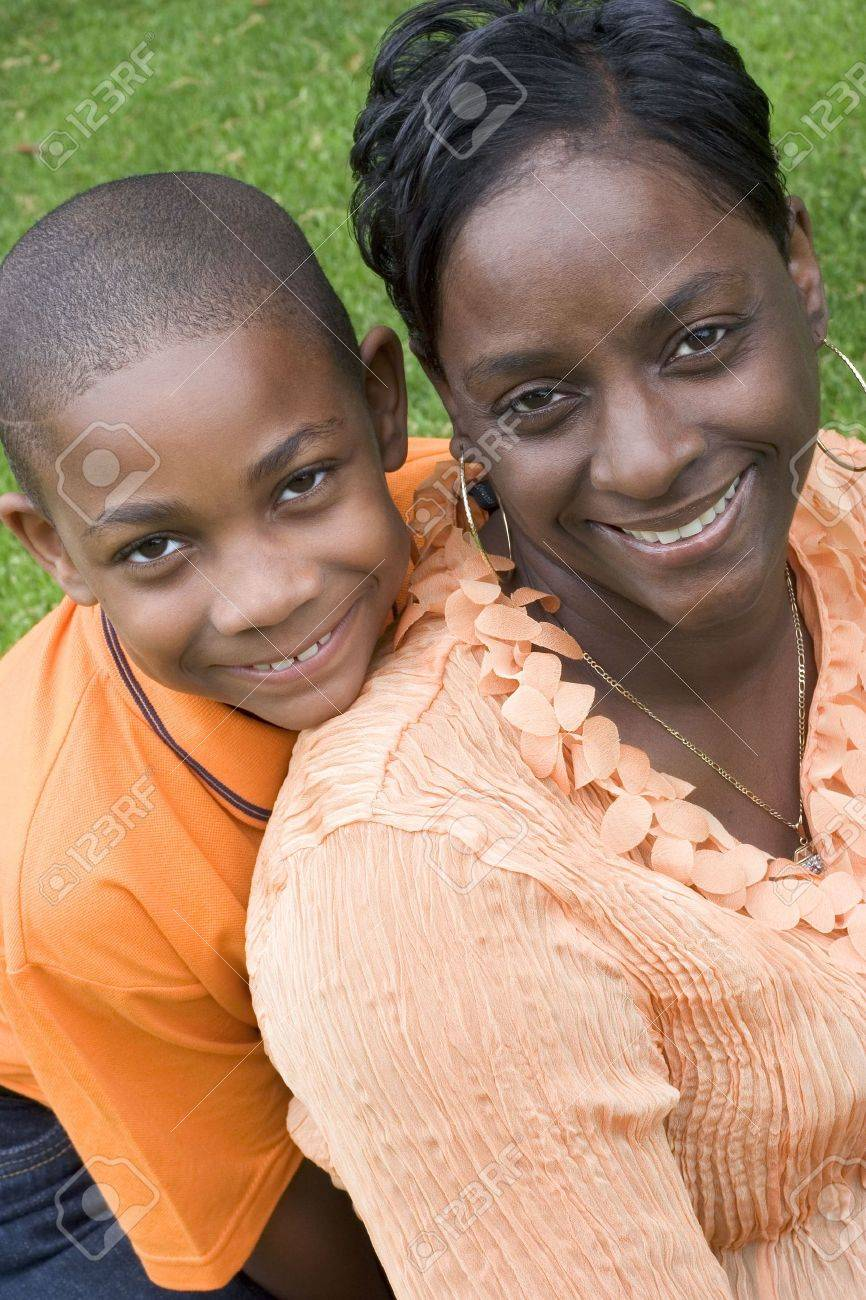 Mother and Son Stock Photo - 408256