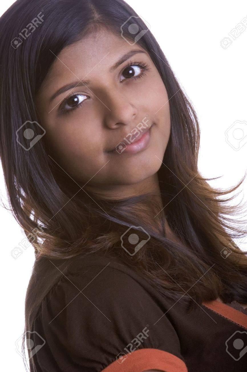 online retailer f3167 9d691 Pretty Indian Girl Stock Photo - 1103941