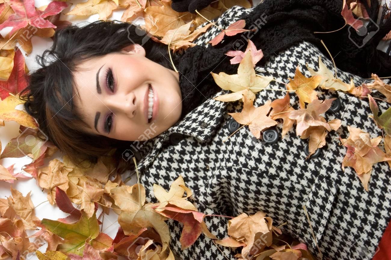 Autumn Girl Stock Photo - 1827306