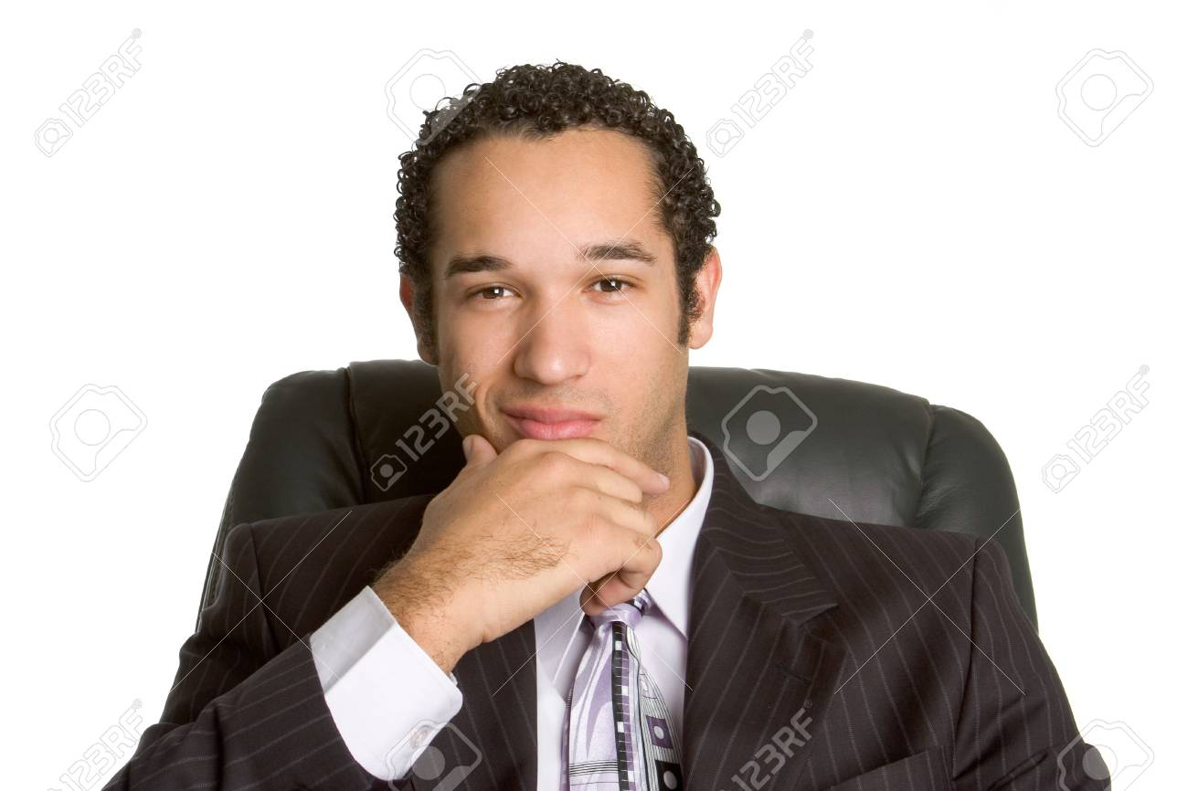 Thinking Businessman Stock Photo - 2377578