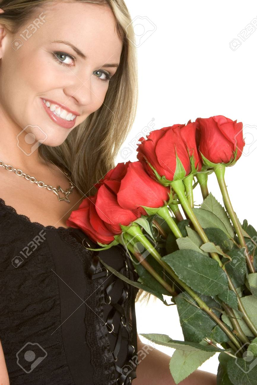 Rose Woman Stock Photo - 2482468
