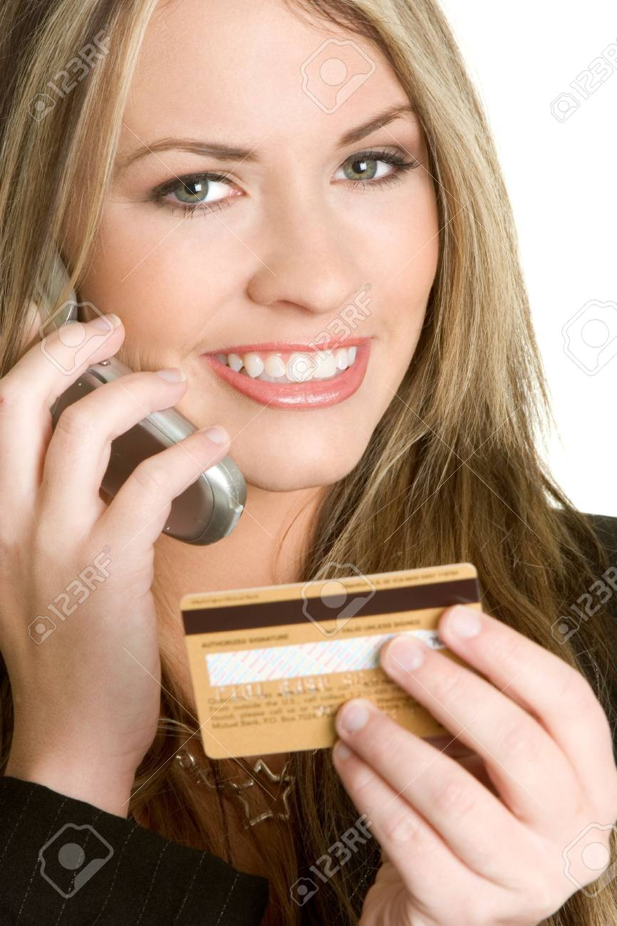 Credit Card Woman Stock Photo - 2515380