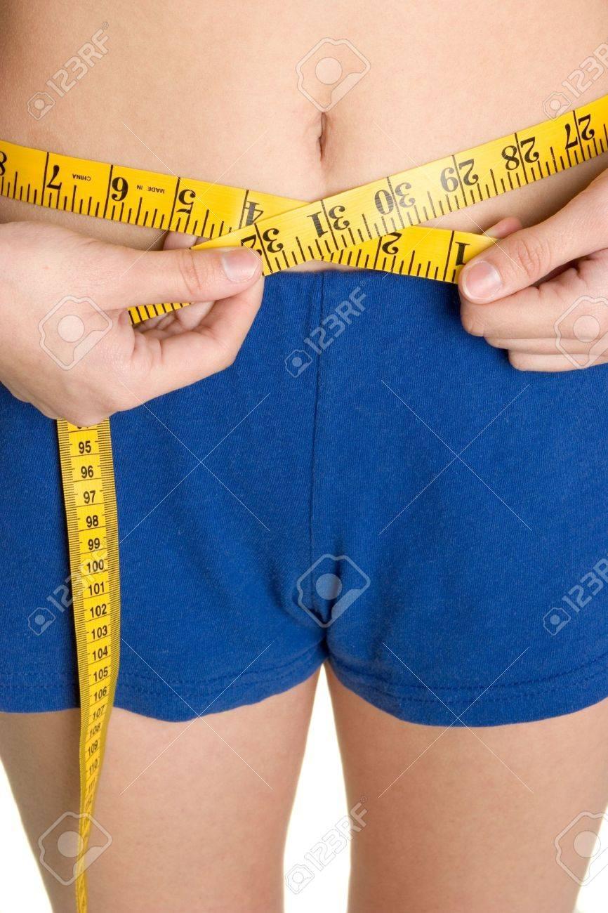 Measuring Waist Stock Photo - 2658091