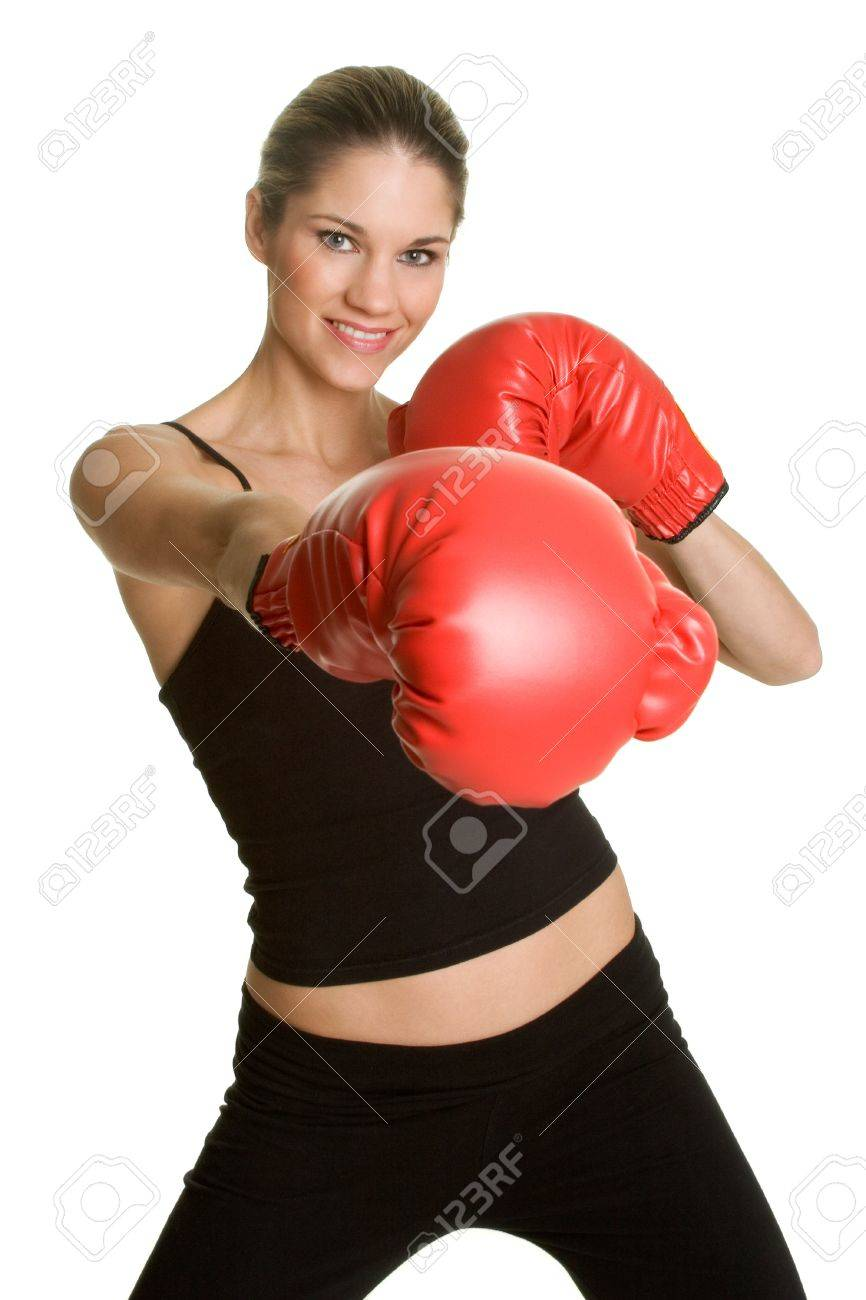 Boxing Girl Stock Photo - 2736767