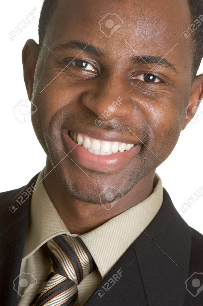 Businessman Smiling Stock Photo - 2729775