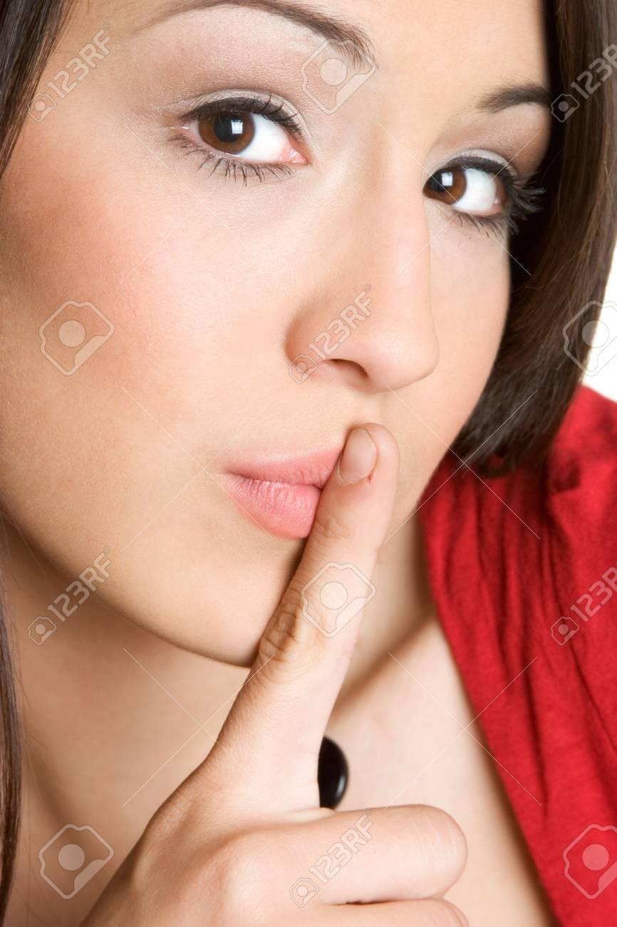 Quiet Woman Stock Photo - 2747068