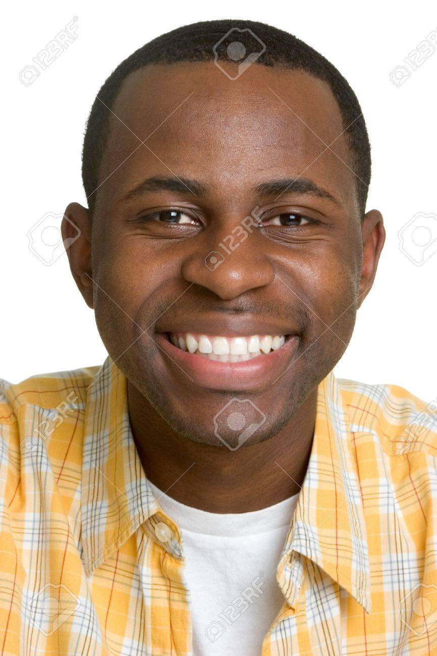 Grinning African American Man Stock Photo - 2966698