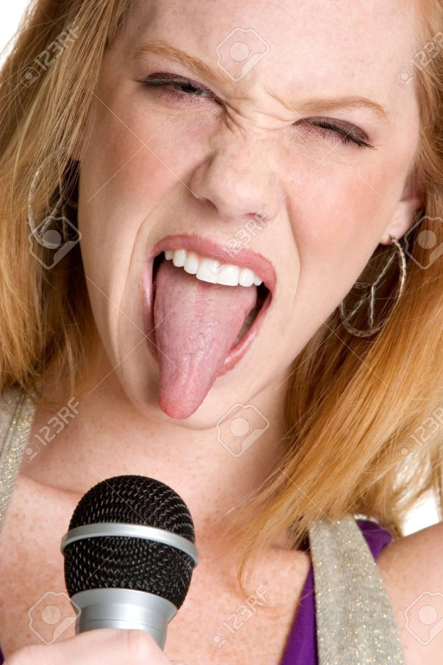 Rocker Girl Stock Photo - 3107344