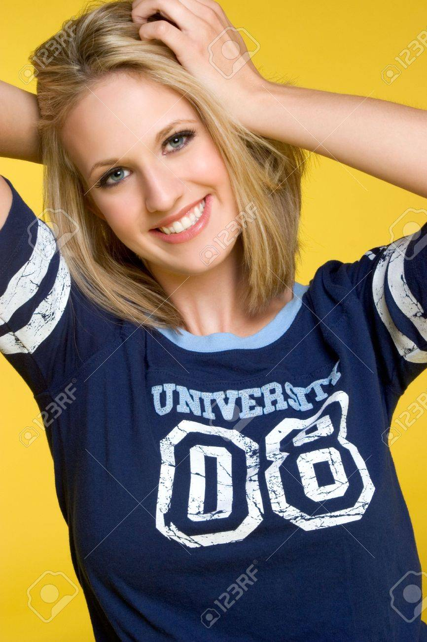 Pretty Blond Girl Stock Photo - 3430704