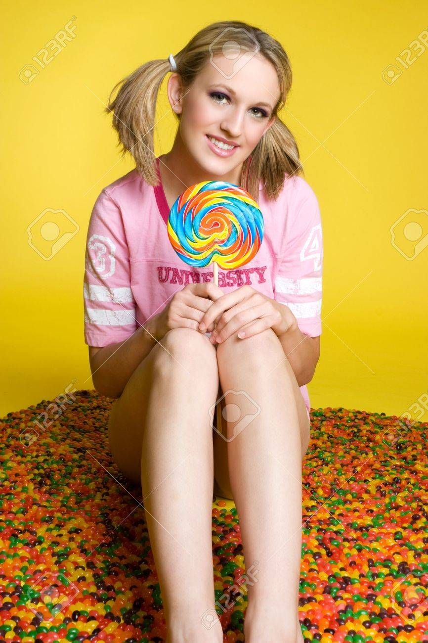 Candy Girl Stock Photo - 3591031