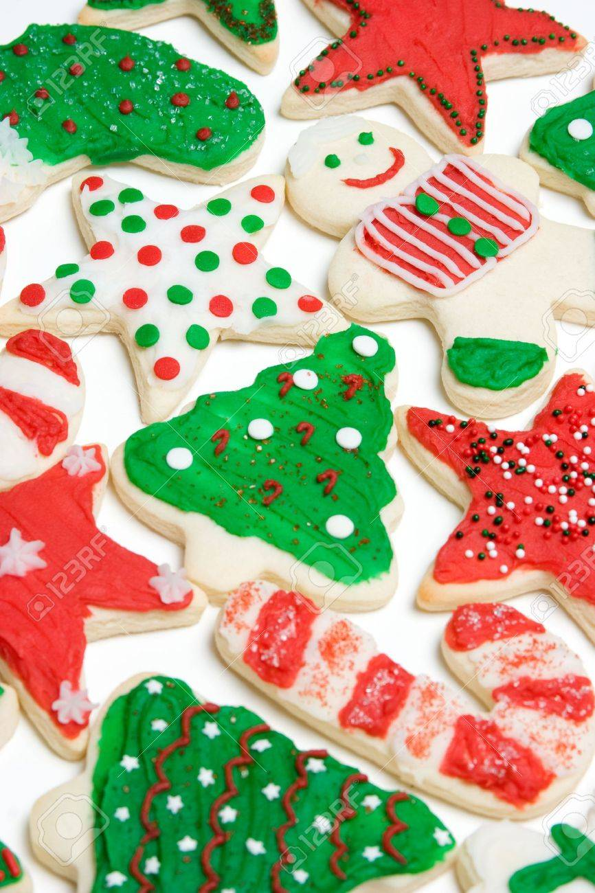 Holiday Cookies Stock Photo - 3963193