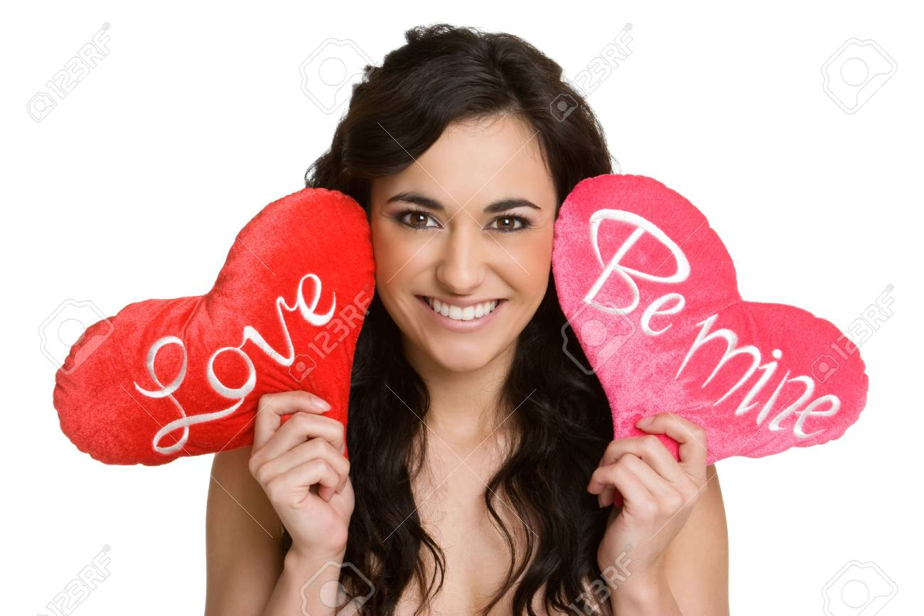 Valentines Girl Stock Photo - 4127976