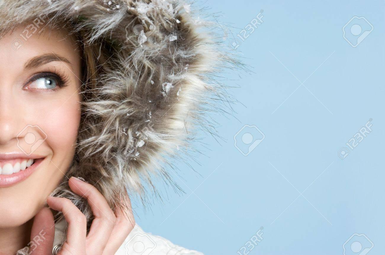 Pretty Winter Teen Stock Photo - 4222481