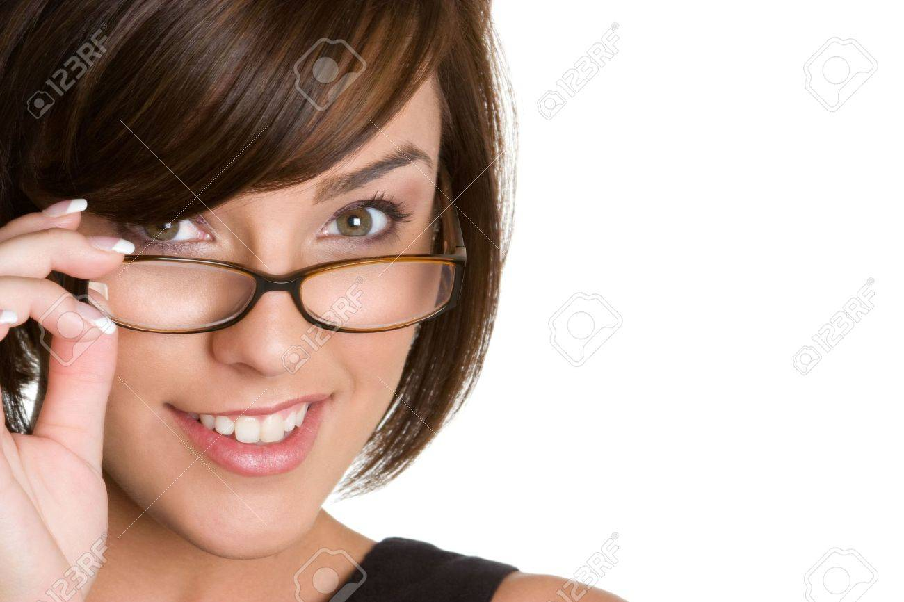 Girl Wearing Glasses Stock Photo - 4303493