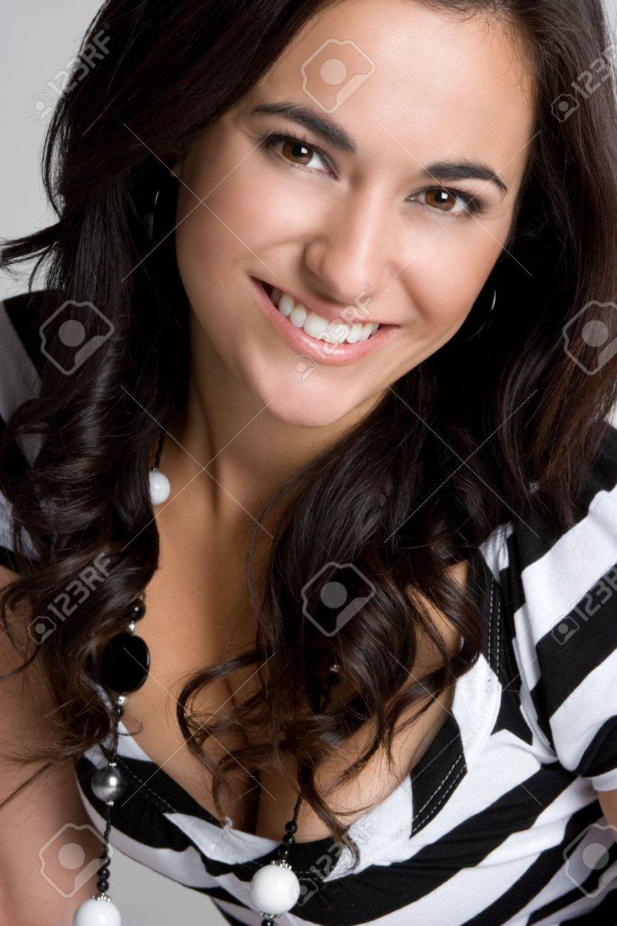 Young Woman Smiling Stock Photo - 4312949