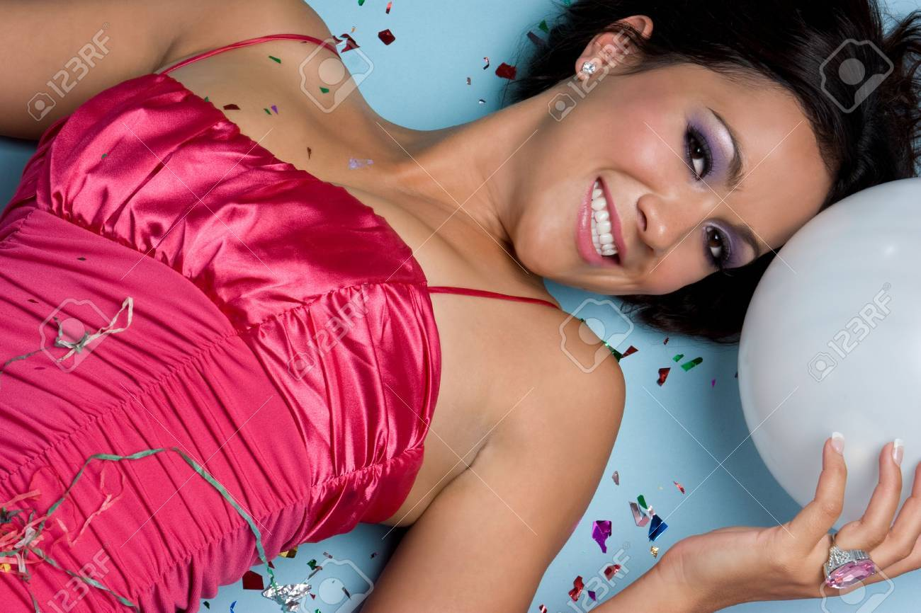 Pretty Party Girl Stock Photo - 4367268
