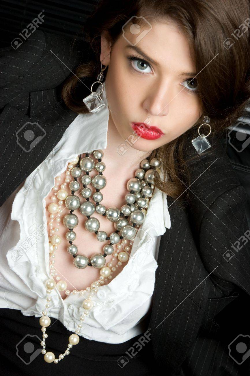 Classy Woman Stock Photo - 4516039