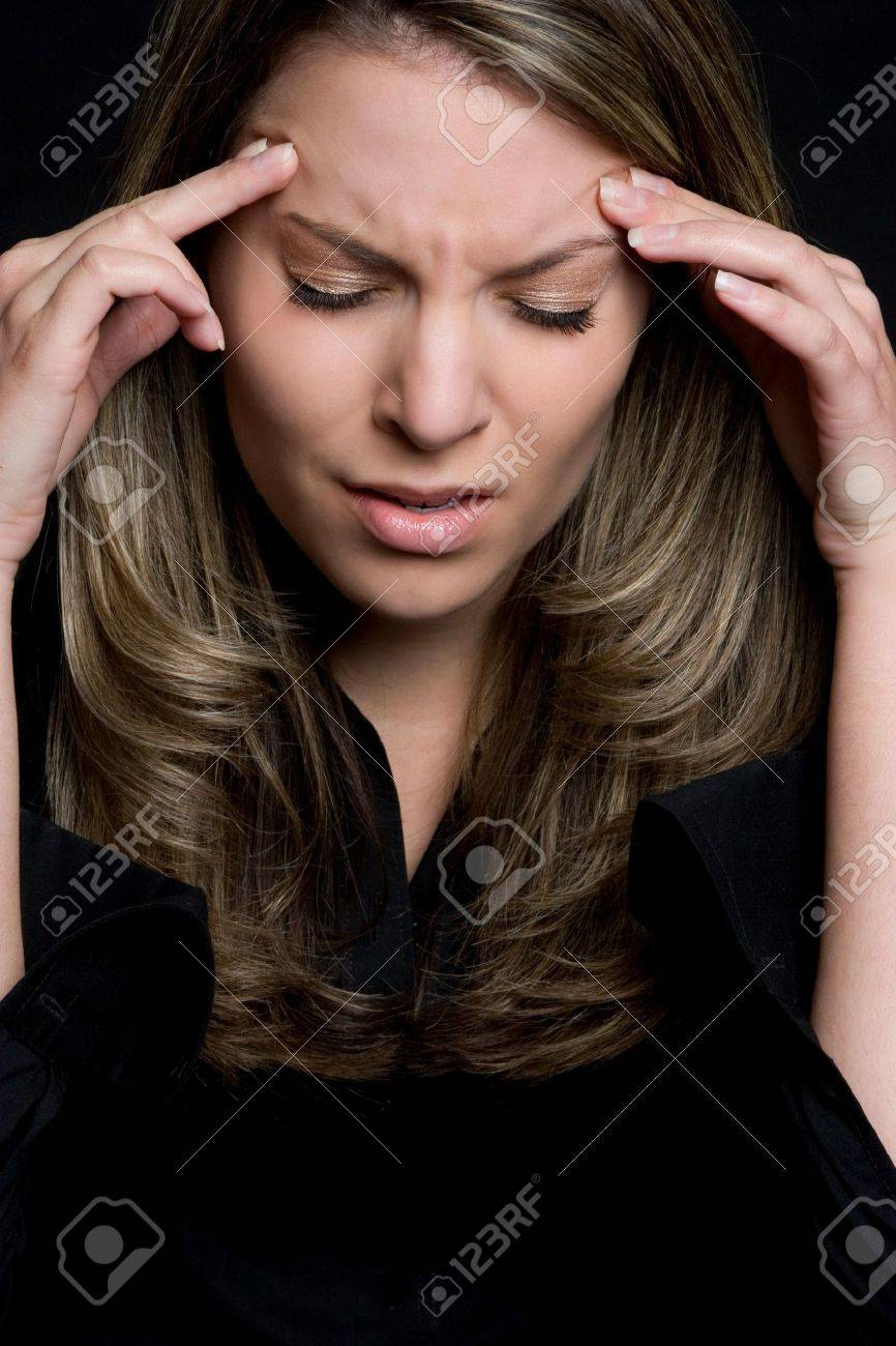 Stressed Woman Stock Photo - 4516030