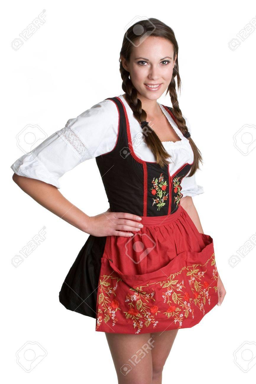 Smiling German Woman Stock Photo - 4591372