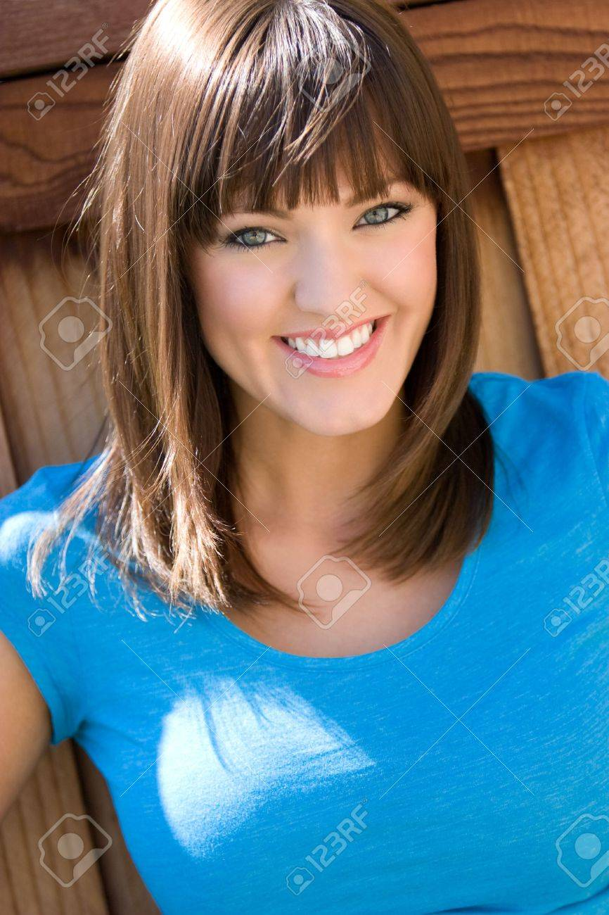 Smiling Young Woman Stock Photo - 4614295