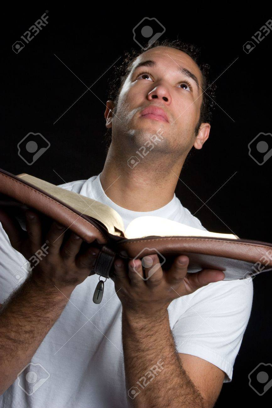Man With Bible Stock Photo - 4652919