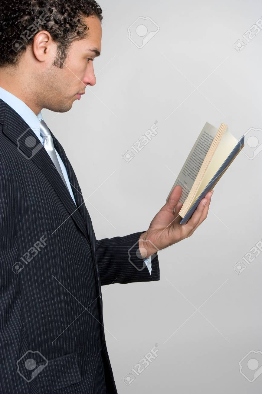 Reading Man Stock Photo - 4709015