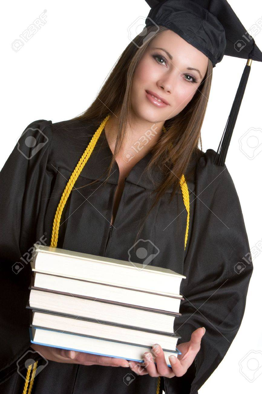 college grads images stock pictures royalty college grads college grads graduation girl carrying books lang evoimages