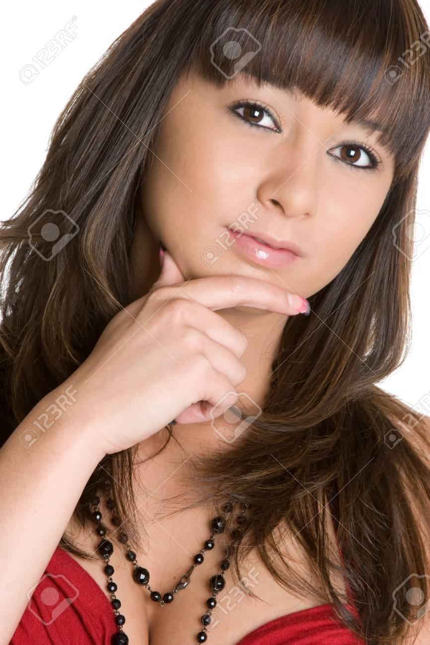 Thinking Asian Girl Stock Photo - 4779944