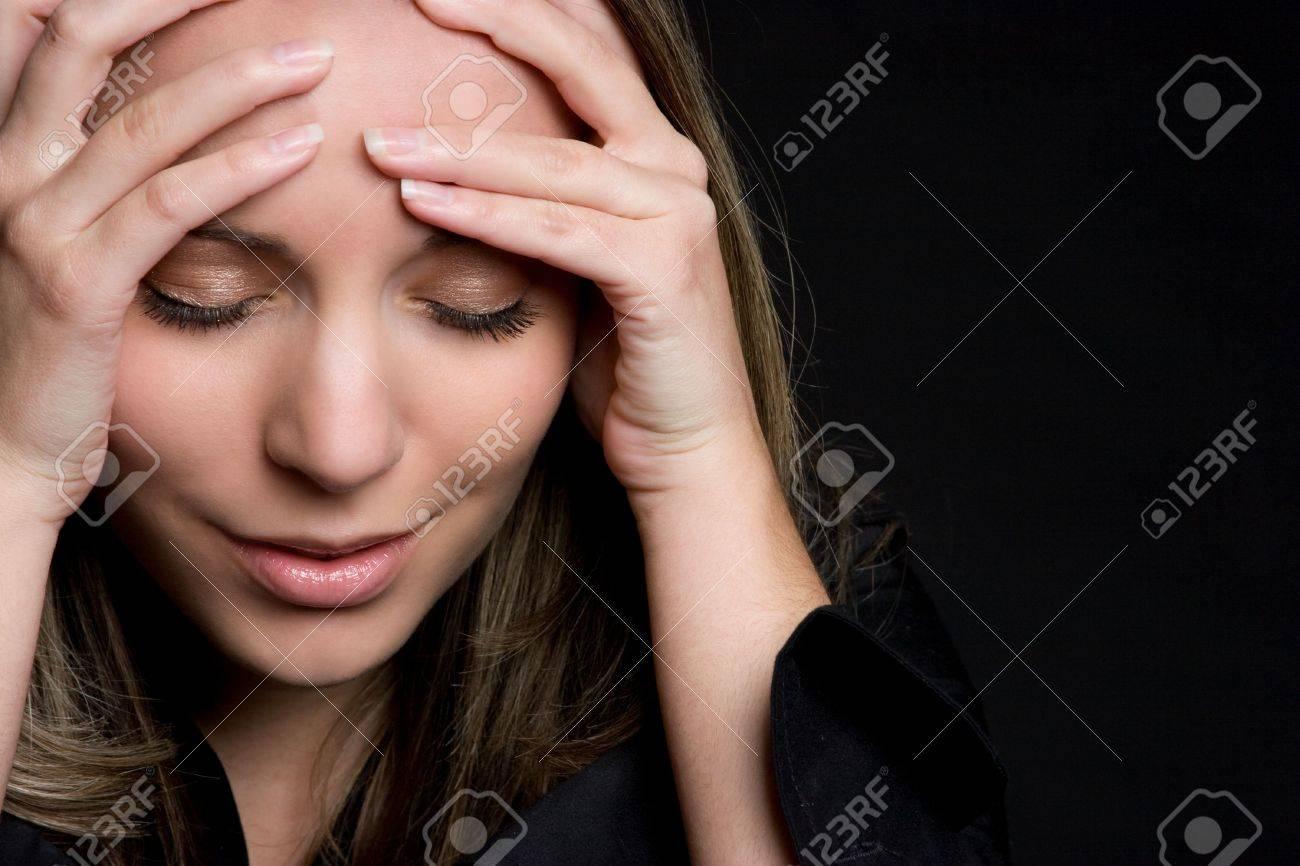 Emotional Girl Stock Photo - 4810076